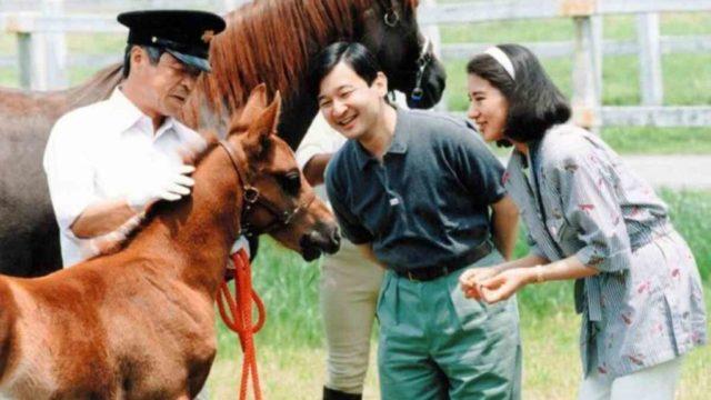 雅子様と馬と子馬